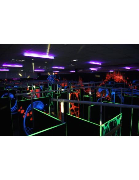 Parcours du Laser Game Evolution