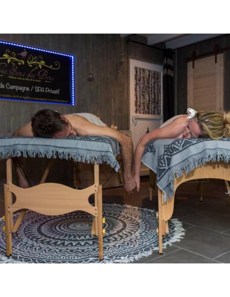 Massages remisés pour le sens des bois