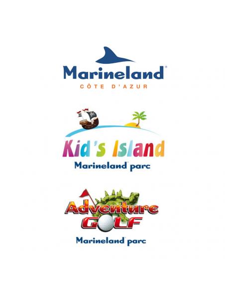 Marineland, Kids Island et Adventure Golf