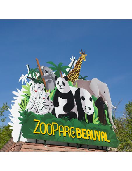 Zoo Parc de Beauval tickets pas cher - Opale CE