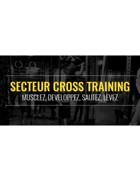 FIT CENTER : cross training