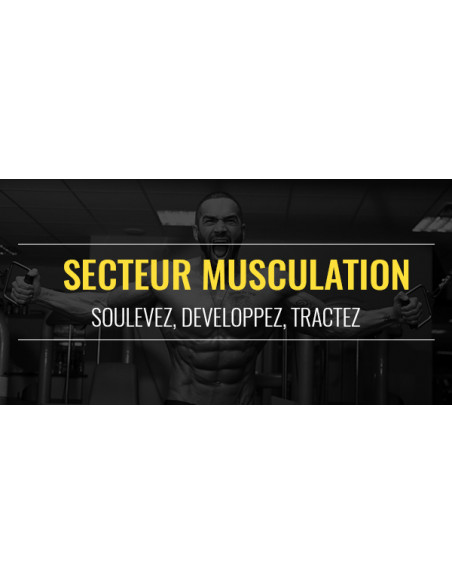 FIT CENTER : Musculation